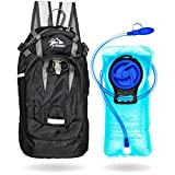 Kadzait Hydration Backpack- Everyday Use Daypack – 15L of Storage Space and 2L BPA Free Water Reservoir With Bite Valve, Non-Kink Sip Tube Review
