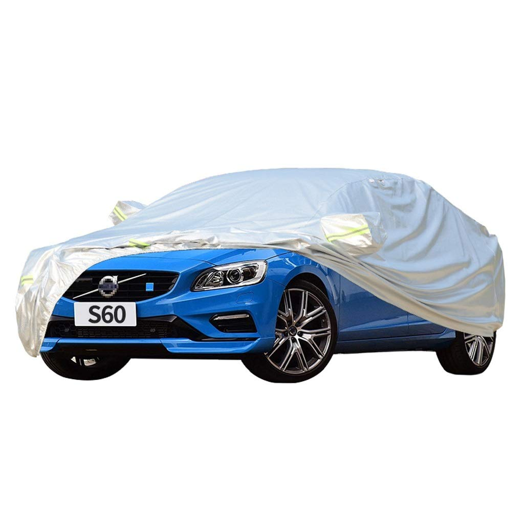 SXET-Car cover Car Cover Volvo S60 Special Car Cover Snow Frost Sunscreen Sunshade Oxford Cloth Windshield Cover