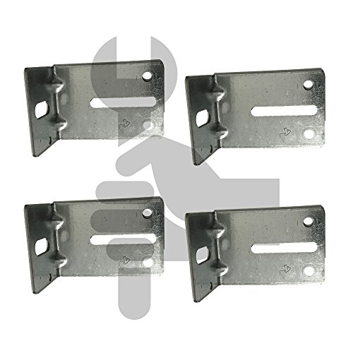 Garage Door Track Jamb Bracket Size J-6 PK- 4