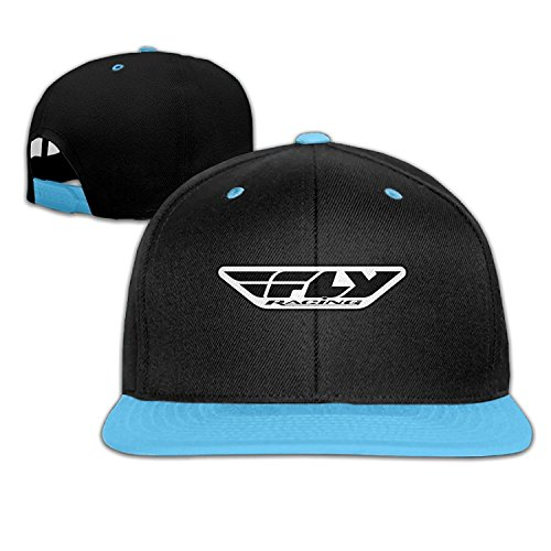 OHYEYE Kids Fly Racing Medium Logo Adjustable Snapback Caps Hip-hop Baseball Hat For Kids