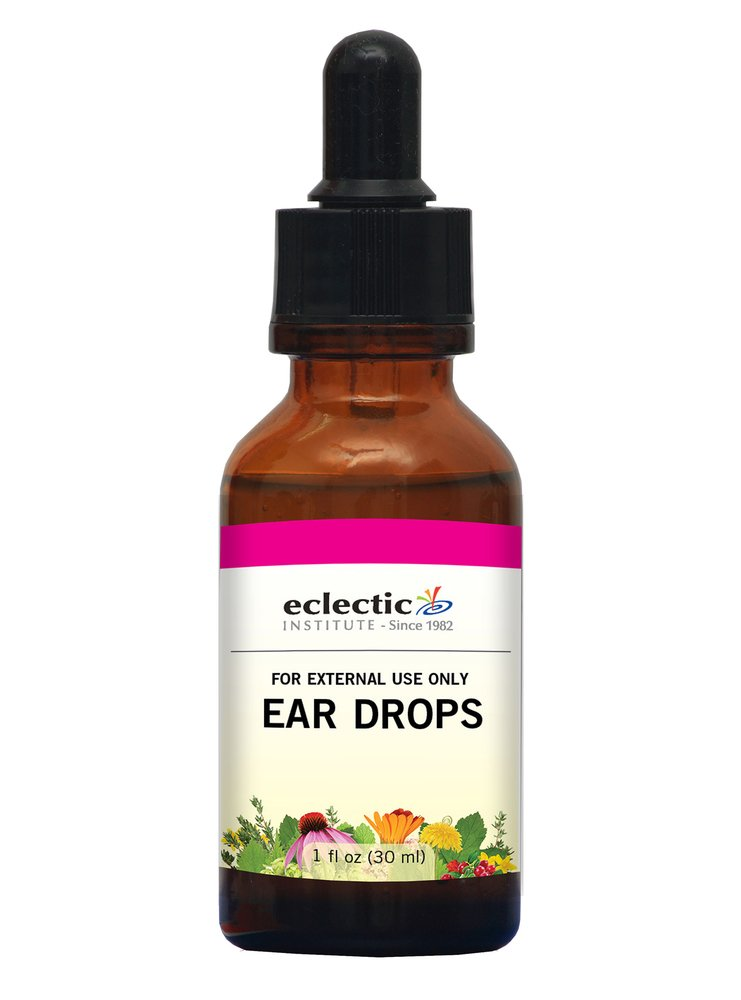 Eclectic Ear Drops, Red, 1 Ounce