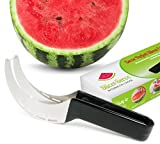 Slice & Serve Watermelon Slicer, Cutter, Knife and Tongs - All in One