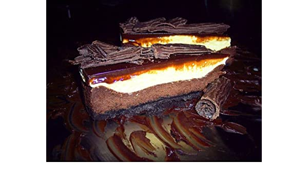 6lb Ebony & Ivory Cheesecake By TheCheesecakeBar.com: Amazon.com: Grocery & Gourmet Food