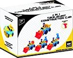 Take Apart Toys for Boys & Girls TG652 - Bump n Go Construction Vehicles, Trucks, Excavator (4 Models) & Electric Drill – Learning Toys for Toddlers 3, 4, 5 Years Old by ThinkGizmos from Think Gizmos