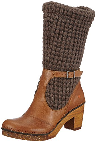 ART Amsterdam - Botas de lana para mujer beige - Beige (CARAMEL)
