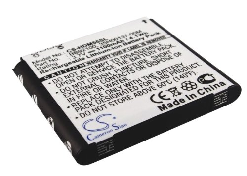 Replacement Battery for HTC A6366, A6380, Aria Part NO 35H00137-00M, 35H00137-01M, BA S430 (Htc Aria Replacement Battery)