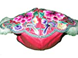 100% Hand Sew Authentic Embroidery Textile Art Baby Hat