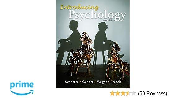 Introducing Psychology 9781464107818 Daniel L
