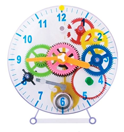 Tobar New DIY Make Your Own With Spring Cogs Gears See Through Clock TOB/PW