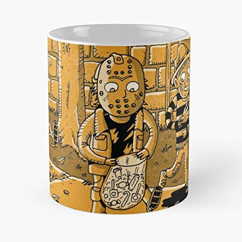 Halloween Kids 80s Movies - 11 Oz Coffee Mugs Unique Ceramic Novelty Cup, The Best Gift For -