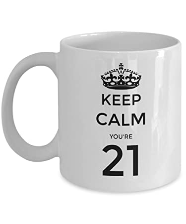 21st Birthday Gift For Friend Ideas Mug 21
