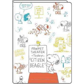 Peanuts Snoopy 2019 Agenda planificadora mensual colorida B6 ...