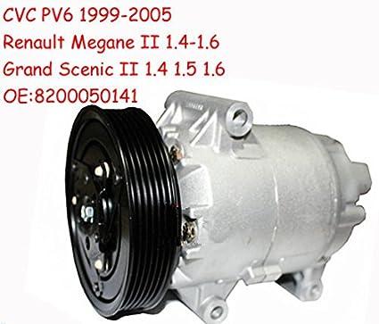 GOWE AC Compresor para coche Renault Megane AC Compresor para coche Renault Megane II 1.4 1.5