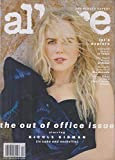 Allure December 2018/January 2019 Nicole Kidman - The Out of Office Issue