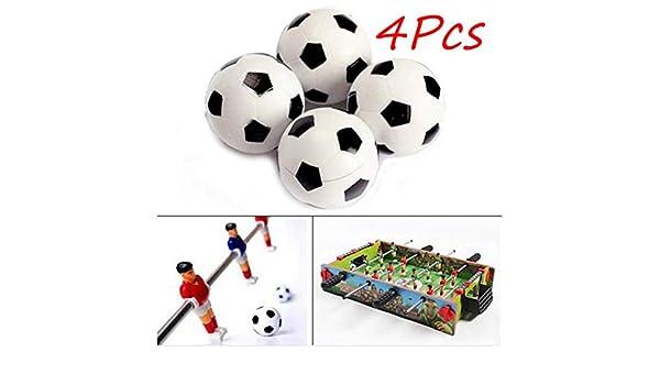 Fenghong - Juego de 4 balones de fútbol (hinchables ...