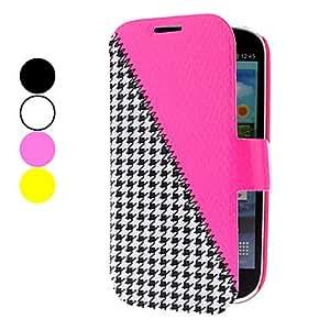 HOR Gradient costura caja de cuero de la PU con el soporte para Samsung Galaxy S3 I9300 (colores surtidos) , Amarillo