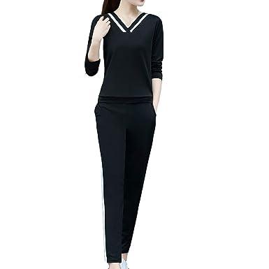 showsing-women clothes Conjunto de Camiseta y Jogger para Mujer ...