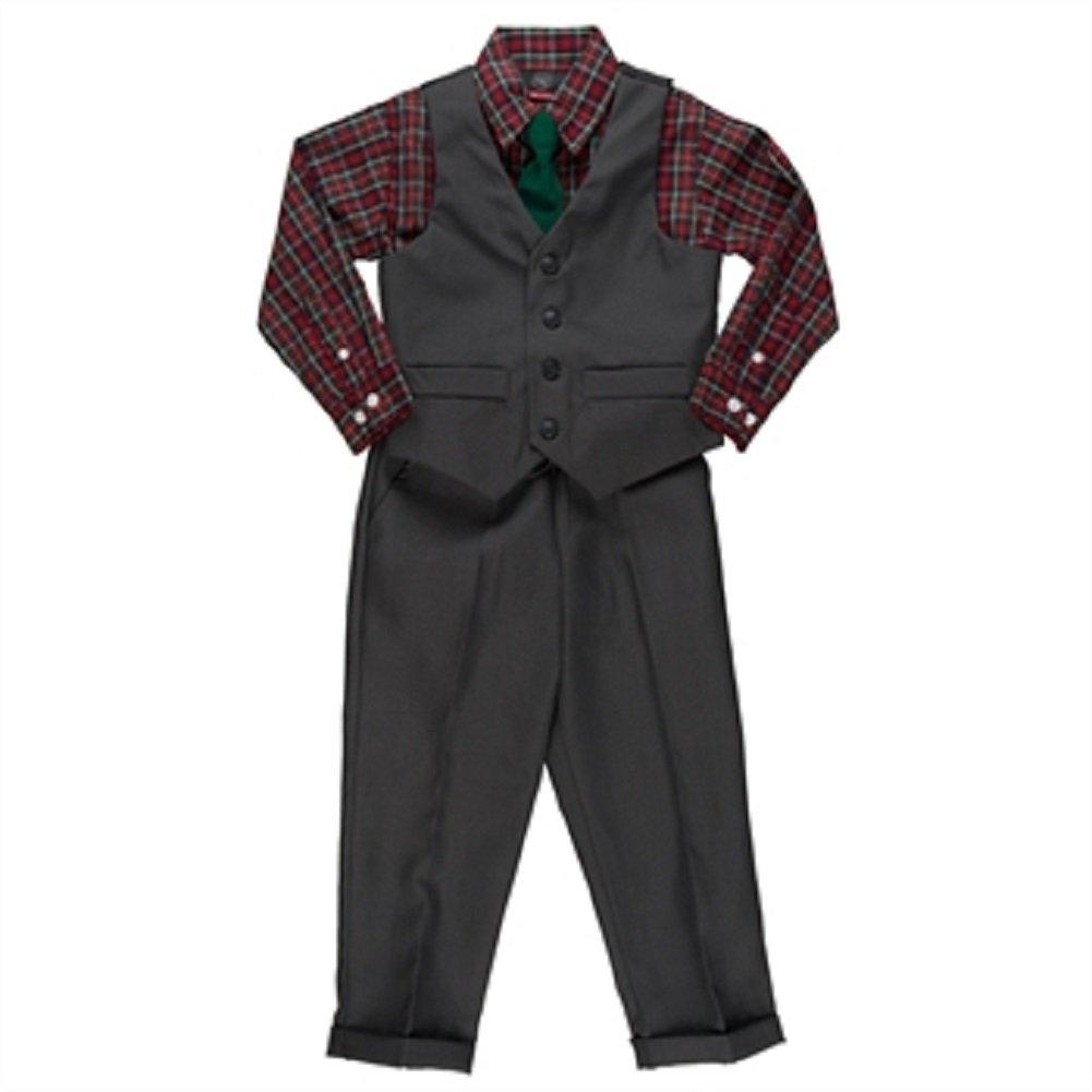 Will Logan Boys Four Piece Vest//Pant Set