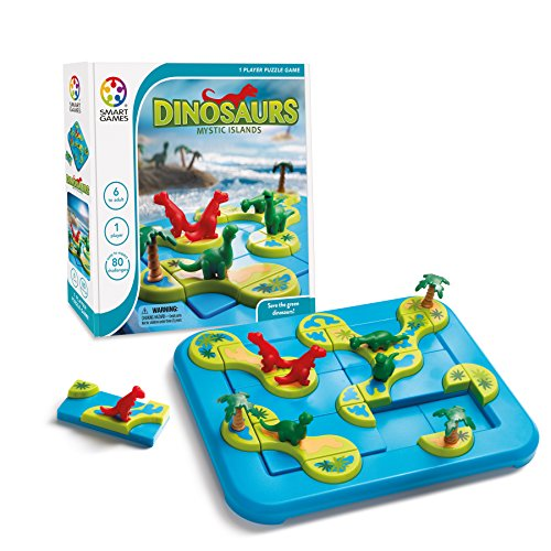 SmartGames 518426 Dinosaurs Mystic Islands