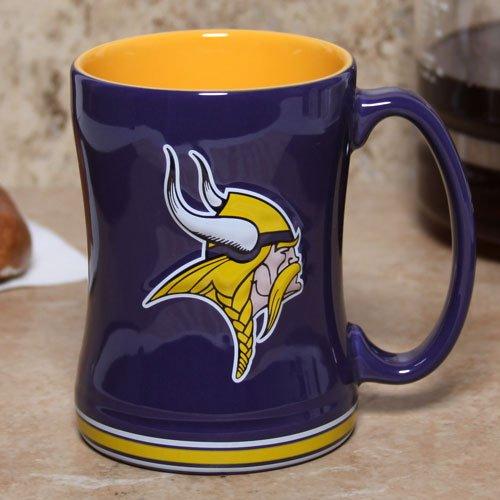 Minnesota Vikings Sculpted Coffee Mug