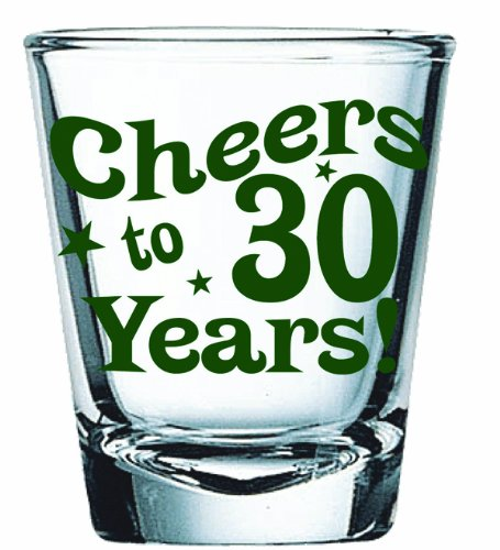 BigMouth Inc Cheers Years Glass