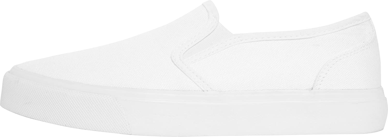 Urban Classics Low, Slip-On Sneaker Unisex-Adulto, Bianco (Wht/Wht 00243), 43 EU