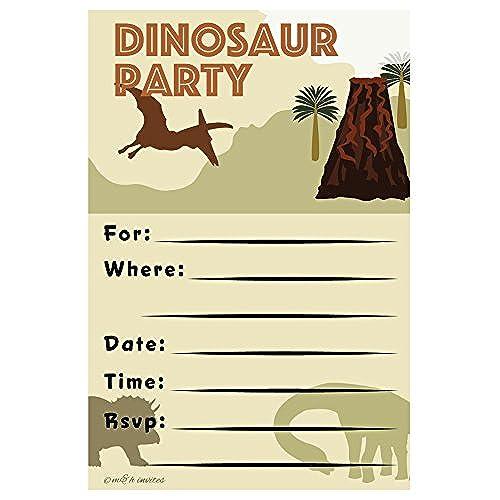 Supplies Dinosaurs Invitations Amazoncom