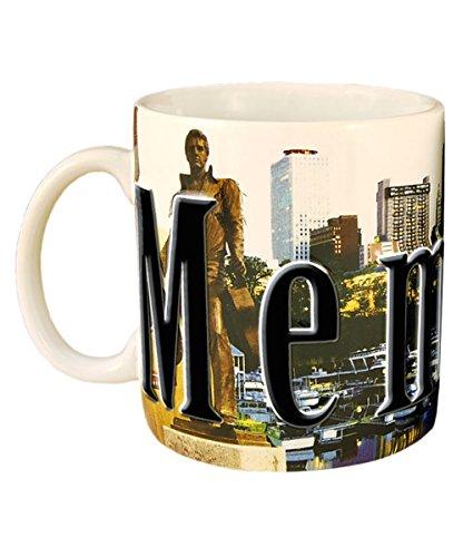 Americaware SMMEM01 Memphis 18 oz Full Color Relief Mug