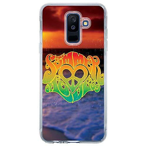 Capa Personalizada Samsung Galaxy A6 Plus A605 Summer Love - AT40
