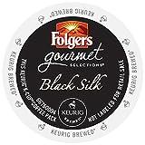 Folgers Gourmet Selections Black Silk Coffee Keurig K-Cups, 96 Count