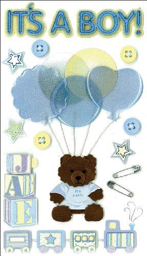Jolee's Boutique Dimensional Stickers, It's A Boy