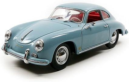 1957 Porsche 356A 1500 GS Carrera GT Coupe Green 1//18 Diecast Model Car by Sunstar 1343