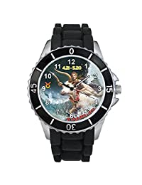 Taurus Zodiac Unisex design watch with silicone band