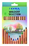 LYRA Waldorf Unlacquered Triangular Giant Colored Pencils 12pc Deal (Small Image)
