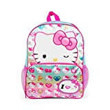 love kitty gems - Hello Kitty I Love Kitty 16 inch Backpack with Side Mesh Pockets