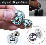 OUBAO 2017 Orbiter Magnet Hand Spinner Roll Gyro EDC Focus Toys