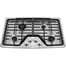 """Electrolux 30"""" 30 Inch Stainless Steel Gas Cooktop Stovetop EW30GC55PS"""