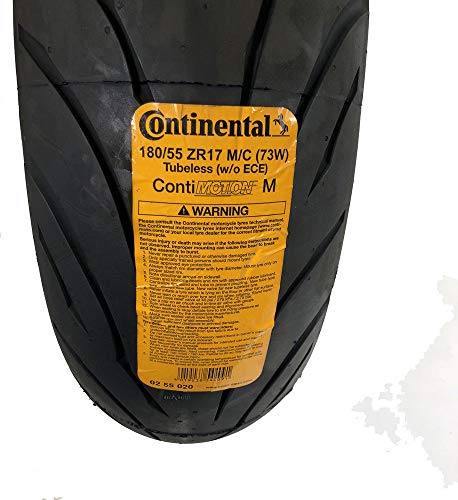CONTINENTAL MOTION Tire Set 120/70zr17 Front & 180/55zr17 Rear 180 55 17 120 70 17 2 Tire Set by Continental (Image #6)