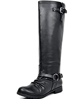 960eccdd7134 TOETOS Women s Fashion Knee High and Up Riding Boots