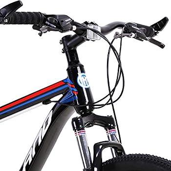 45,7 cm bicicleta de monta/ña para hombre Hiland Bicicleta de monta/ña de 26 pulgadas con doble suspensi/ón de 21 velocidades