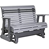 LuxCraft Rollback Recycled Plastic 4ft. Patio Glider Review