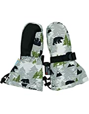 Jan & Jul Waterproof Stay-on Winter Snow and Ski Mittens Fleece-Lined for Baby Toddler Girls and Boys