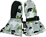 Jan & Jul Waterproof Stay-on Winter Snow and Ski Mittens Fleece-Lined for Baby Toddler Girls and