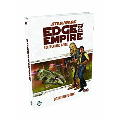 Star Wars: Edge of the Empire - Core Rulebook: Fantasy Flight Games: Toys & Games