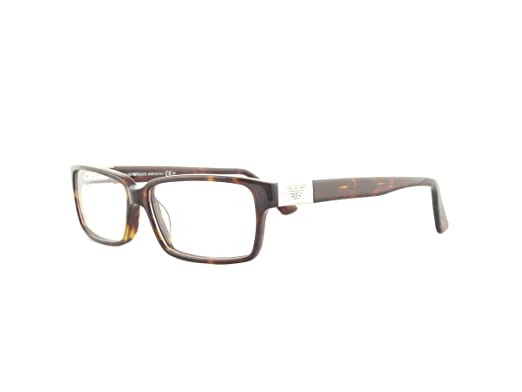 2089f790611 Image Unavailable. Image not available for. Color  Emporio Armani Men s EA  9594 Havana (086) Frame Clear Lens Full Rim Eyeglasses 55mm