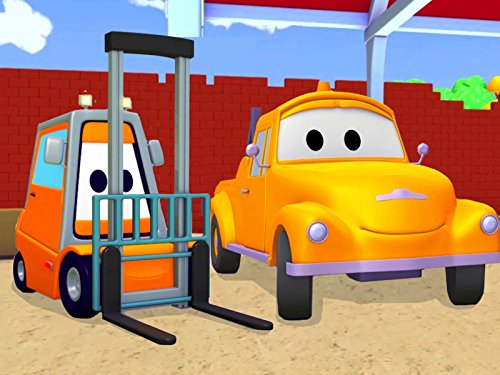 Tom the Tow Truck and Francis the Forklift (Site Videos Construction)