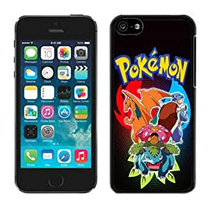 Unique iPhone 5C Screen Case ,Popular And Durable Designed Case With pokemon pc game Black For iPhone 5C Phone Case Great Quality Cover Case