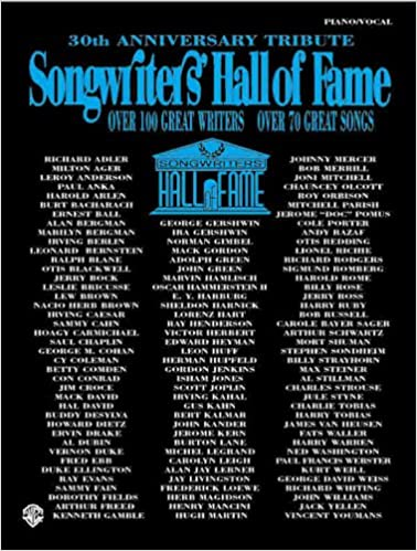 Songwriters' Hall of Fame -- 30th Anniversary Tribute: Over
