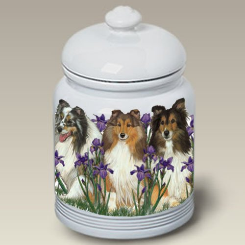 Shelties - Best of Breed Treat Jars