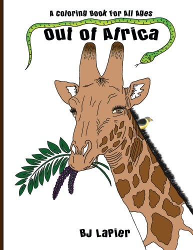 Out of Africa: An Educational Coloring Book for All Ages (Volume 1) by CreateSpace Independent Publishing Platform